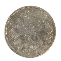 1886 Small 6 Canada 5 Cents Filler