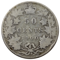 1900 Canada 50-cents About Good (AG-3)