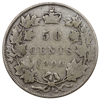 1900 Canada 50-cents Very Good (VG-8) $