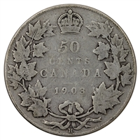 1903H Canada 50-cents G-VG (G-6)