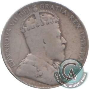 1904 Canada 50-cents G-VG (G-6) $