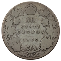 1909 Canada 50-cents Good (G-4)