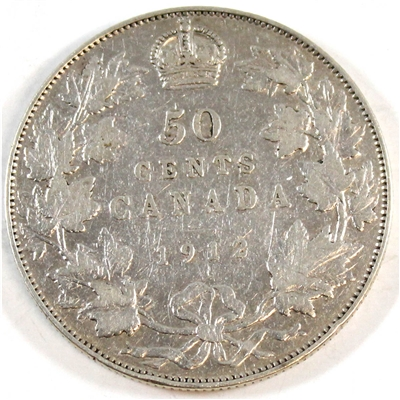 1912 Canada 50-cents VG-F (VG-10)