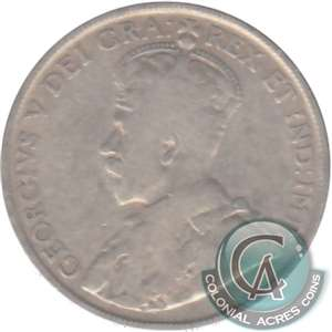 1916 Canada 50-cents G-VG (G-6)