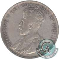 1919 Canada 50-cents F-VF (F-15)