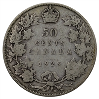 1929 Canada 50-cents G-VG (G-6)
