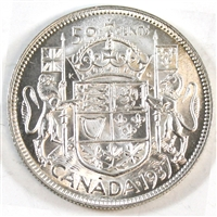 1937 Canada 50-cents Brilliant Uncirculated (MS-63)