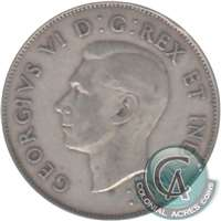 1939 Canada 50-cents VG-F (VG-10)