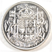 1940 Canada 50-cents Brilliant Uncirculated (MS-63) $