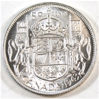 1943 Canada 50-cents UNC+ (MS-62)