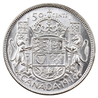 1946 Canada 50-cents UNC+ (MS-62)