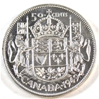 1949 Canada 50-cents Brilliant Uncirculated (MS-63)