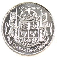 1949 Canada 50-cents Choice Brilliant Uncirculated (MS-64)