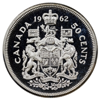 1962 Canada 50-cents Proof Like