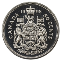 1968 Canada 50-cents Proof Like