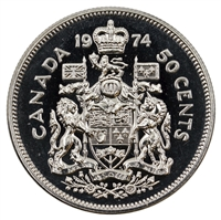 1974 Canada 50-cents Proof Like