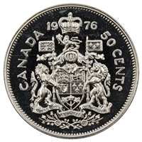 1976 Canada 50-cents Proof Like
