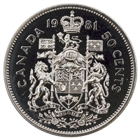 1981 Canada 50-cents Proof Like