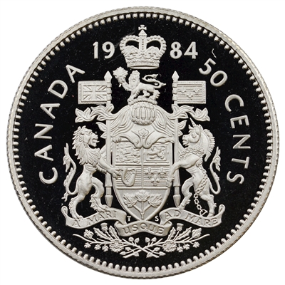 1984 Canada 50-cents Proof