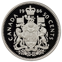 1986 Canada 50-cents Proof