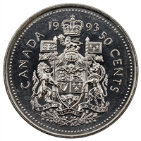 1993 Canada 50-cents Brilliant Uncirculated (MS-63)