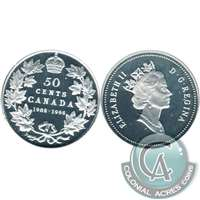1998 Canada (1908-1998) Commem. 50-cents Proof