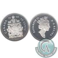 1998 Canada 50-cents Silver Proof