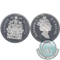 2000 Canada 50-cents Silver Proof