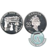 2001 Canada Festival Of The Fathers 50-cents Silver Proof