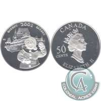 2001 Canada Quebec Carnival 50-cents Silver Proof_