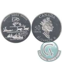 2001 Canada Toonik Tyme 50-cents Silver Proof_