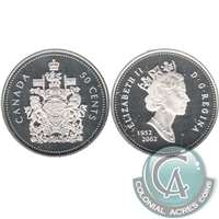 2002 Canada 50-cents Silver Proof