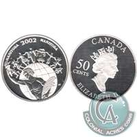 2002 Canada Manitoba 50-cents Silver Proof_