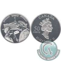 2002 Canada Ontario 50-cents Silver Proof_