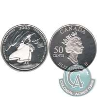 2003 Canada North West Territories 50-cents Silver Proof_