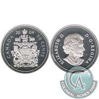 2004 Canada 50-cents Silver Proof
