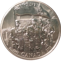 2005 Canada Liberation Of The Netherlands 50-cents Specimen