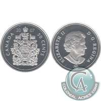 2007 Canada 50-cents Silver Proof