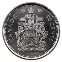 2010 Canada 50-cents Brilliant Uncirculated (MS-63)