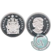 2010 Canada 50-cents Silver Proof