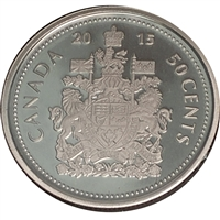 2015 Canada 50-cents Proof (non-silver)