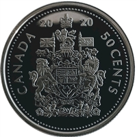 2020 Canada 50-cents Proof (non-silver)