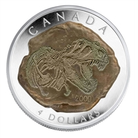 2009 Canada $4 Dinosaur Collection - Tyrannosaurus Rex Fine Silver (No Tax)