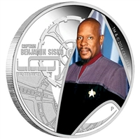 2015 Tuvalu Star Trek Deep Space Nine - Captain Sisko Silver (No Tax)