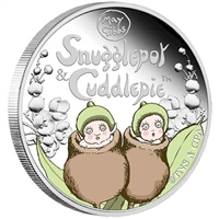 2016 Australia Snugglepot & Cuddlepie 1/2oz. Proof Silver (TAX Exempt)