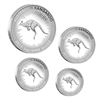 2017 Australia Kangaroo 4-coin Silver Proof Set (No Tax)