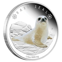 <h1>2017 Tuvalu 50-cent Polar Babies - Harp Seal Fine Silver (No Tax)</h1>