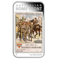 2017 Australia $1 Posters of WWI - Australian Home League (TAX Exempt)
