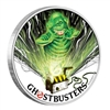 2017 Tuvalu $1 Ghostbusters - Slimer Proof Silver Coin (No Tax)