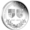 2017 Australia $1 70th Anniversary of the Royal Wedding Silver Proof (No Tax)